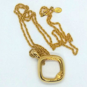 Joan Rivers Gold Interchangeable Pendant Necklace